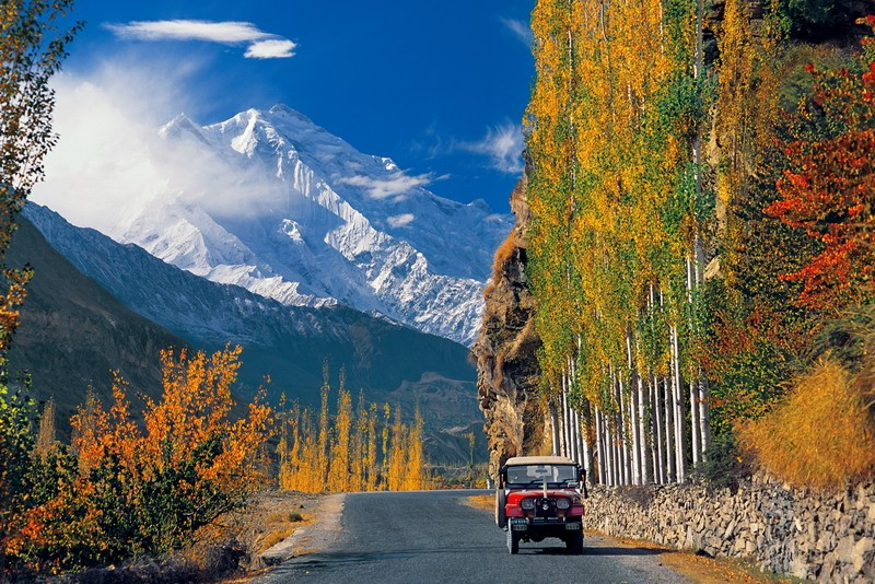 Hunza Valley is probably the most beautiful and most visited destination of Pakistan