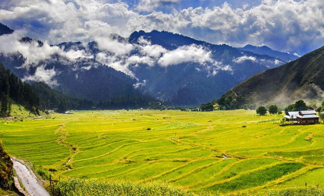 Loveliest valley in Azad Kashmir.
