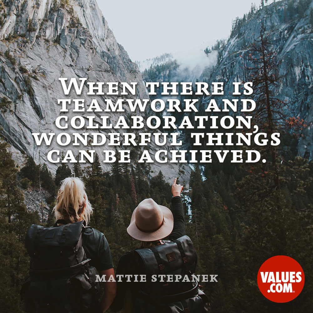 Teamwork is the collaborative effort of a team to achieve a common goal