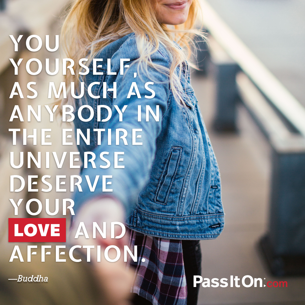 To love yourself is to understand