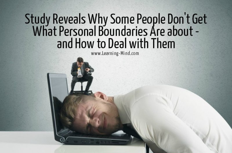 Be consistent with your new boundaries