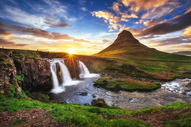 Snaefellsjokull National Park in Iceland is one of the most beautiful places to visit